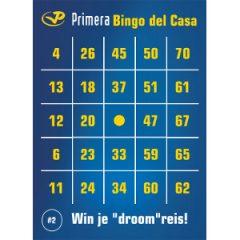 Primera printbare bingokaart