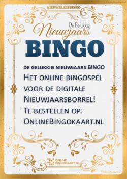 de gelukkig nieuwjaars bingo