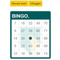 ABN Amro bingokaart