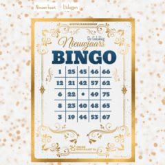 De Gelukkig Nieuwjaars BINGOkaart