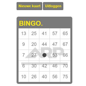 ARP bingokaart